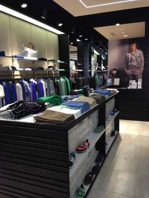 Stores designed by Tecna Spa: The Bikkembergs